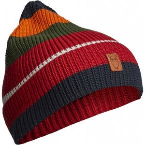 Striped Ribbing Hat Mütze GOTS Vegan - KnowledgeCotton Apparel