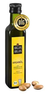 Bio-Arganöl, ungeröstet 250 ml, kaltgepresst, DLG-GOLD prämiert - ARGANARGAN