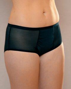 Taynie Panty Periodenslip Menstruationsunterwäsche in Schwarz  - Taynie