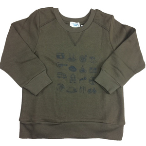 Jungen Sweater braun - Cotton People Organic