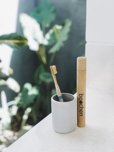 Bambus Zahnbürsten Etui - boochen