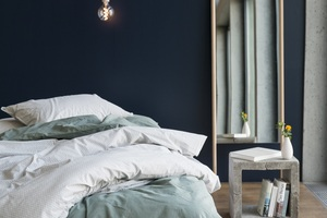 Kissenbezug Baumwolle - Inga Tropfen 80x80 cm - #lavie