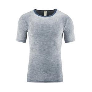 Living Crafts Herren Unterhemd kurzarm Harry Bio-Wolle/Seide - Living Crafts