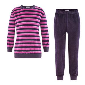 Living Crafts Kinder Nicky-Schlafanzug Hippo reine Bio-Baumwolle - Living Crafts