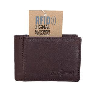 """Geldbörse RFID aus pflanzlich gegerbtem Leder """"Marcello 1"""" - Margelisch"""