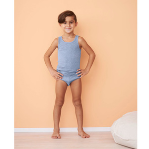 Living Crafts Jungen Slip Grizzly reine Bio-Baumwolle - Living Crafts