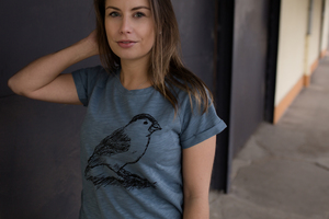 Spatz Organic Women Raglan Shirt _ white/ blue mirage / ILP04 - ilovemixtapes