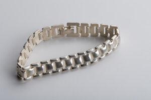Einzelstück: massives Vintage Armband Silber - MishMish by WearPositive