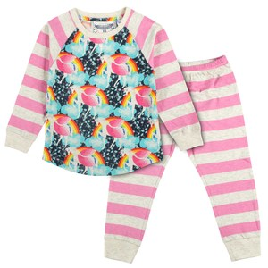 Rainbow Unicorn Pyjama - PAPER WiNGS