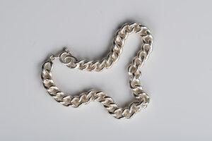 Einzelstück: schweres Vintage Armband Silber - MishMish by WearPositive