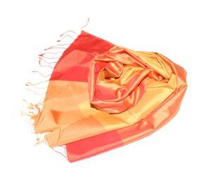 AIDA Edler Schal aus handgewebter Seide - Schönes aus Indochina