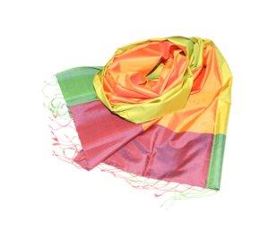 FLORENCE Edler Schal aus handgewebter Seide - Schönes aus Indochina