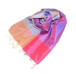 ORCHID Edler Schal aus handgewebter Seide - Schönes aus Indochina