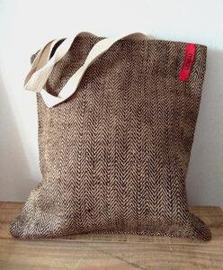 Softgarn Tote Tasche | Bio-Jute - milch Basics