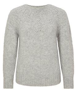 Pullover handgestrickt aus Baby-Alpaka - INTI Knitwear