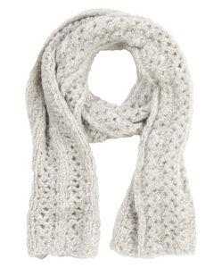 Schal aus Baby-Alpakawolle handgestrickt - INTI Knitwear
