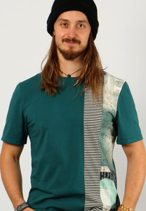 Männer Shirt Pfefferminztee - Die rote Zora