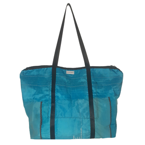 Reisetasche / Sporttasche 79 Liter aus Kitesegeln / Canvas UNIKAT - Beachbreak