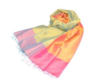 IRINA Edler Schal aus handgewebter Seide - Schönes aus Indochina