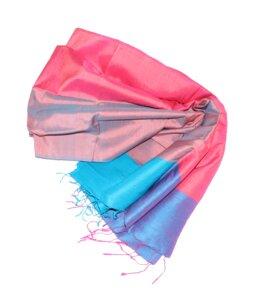 NINA Edler Schal aus handgewebter Seide - Schönes aus Indochina