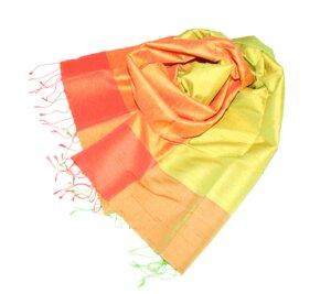 NOEMI Edler Schal aus handgewebter Seide - Schönes aus Indochina