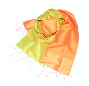 MELIA Edler Schal aus handgewebter Seide - Schönes aus Indochina