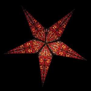 Weihnachtsstern aus Papier Ø60 cm - inkl. Beleuchtungsset - Jaipur - MoreThanHip