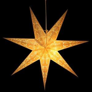 Weihnachtsstern aus Papier Ø60 cm - inkl. Beleuchtungsset - Sumana - MoreThanHip
