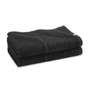 2x Bath Sheet  - klimapositives Saunatuch aus Holz - Kushel Towels