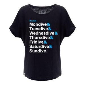 Perfect Week Oversized T-Shirt Damen - Lexi&Bö
