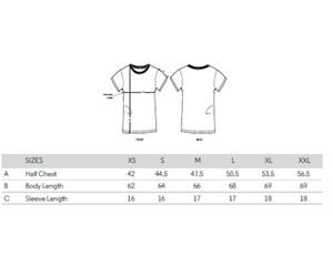 2er Pack Basic T-Shirt Damen Schwarz und Weiß, Bio-Baumwolle - YTWOO