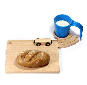 Eisenbahn Frühstücksset - Neue Freunde