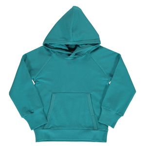 Maxomorra Sweat Hoody Artic blue Kapuze GOTS - maxomorra