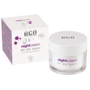 ECO Nachtcreme mit OPC, Q10 und Hyaluron - eco cosmetics