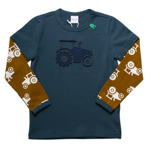 Baby und Kinder Langarm-Shirt Traktor - Fred's World by Green Cotton