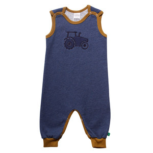 Baby Strampler Traktor  - Fred's World by Green Cotton