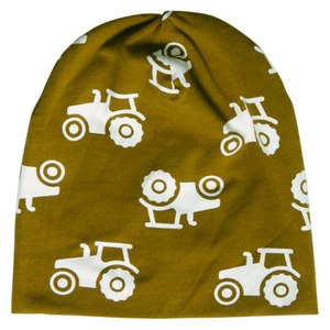 Baby / Kinder Beanie Traktor - Fred's World by Green Cotton