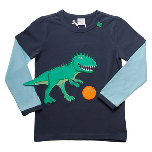 Baby und Kinder Langarm-Shirt Dinosaurus  - Fred's World by Green Cotton