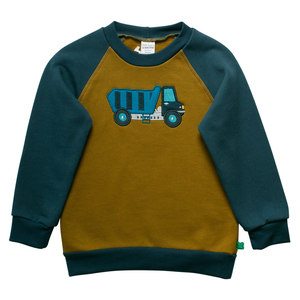Fred's World Kinder Sweat-Shirt Truck - Fred's World by Green Cotton