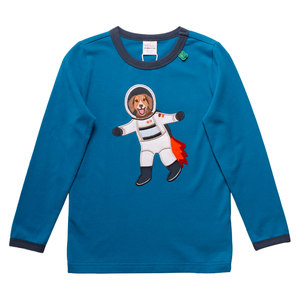 Baby und Kinder Langarm-Shirt Space-Dog  - Fred's World by Green Cotton