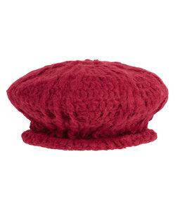 Beret-Mütze handgestrickt aus Baby-Alpaka - INTI Knitwear
