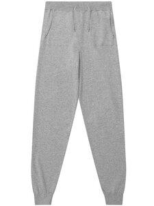 Lounge Knit Bottoms grau stricken Damen - Will's Vegan Shop
