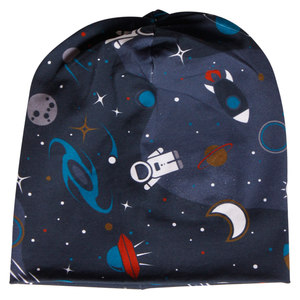 Baby / Kinder Beanie Space - Fred's World by Green Cotton