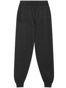 Lounge Knit Bottoms schwarz stricken Damen - Will's Vegan Shop