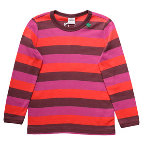 Baby / Kinder Langarm-Shirt Multi-Stripe - Fred's World by Green Cotton