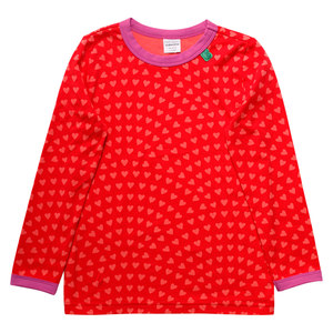 Baby / Mädchen Langarm-Shirt Heart - Fred's World by Green Cotton