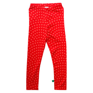 Baby und Mädchen Leggings Heart - Fred's World by Green Cotton