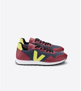 Sneaker Herren - SDU Hexa Hexamesh - Nautico Marsala Jaune Fluo - Veja