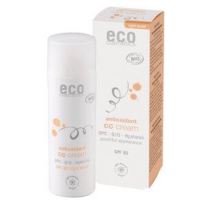 ECO CC Creme LSF 30 getönt mit OPC, Q10 und Hyaluron - eco cosmetics