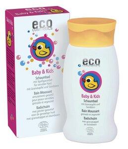 ECO Baby & Kids Schaumbad mit Granatapfel und Sanddorn      - eco cosmetics
